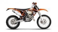 KTM 125 EXC motorcycle