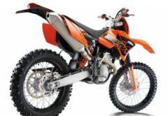 KTM 450 EXC motorcycle