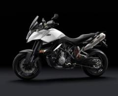 KTM 990 Supermoto T Silver motorcycle