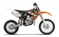 KTM 85 SX 17/14 motorcycle