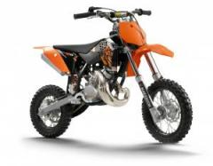KTM 50 SX motorcycle