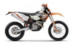 KTM 250 EXC-F Six Days motorcycle