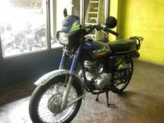 Honda TMX 155 motorcycle
