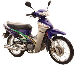 XSJ110-8(EEC) moped