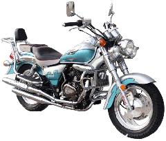 XSJ150-3B (with balance shaft) cruiser motorcycle