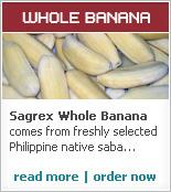 Golden Saba Microwavable Whole Bananas