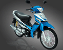 Suzuki Smash Revolution motorcycle