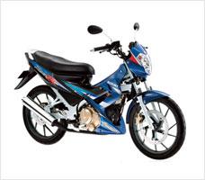 Suzuki Raider 150R motorcycle