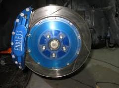 Endless brake pads
