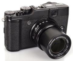 Finepix X10 camera