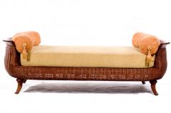 Woven Wicker Daybed