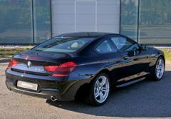 BMW 640d Coupe F13 series car