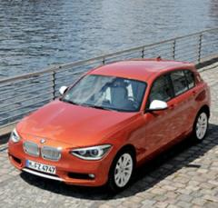 BMW 118d F20 series car