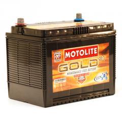 Motolite Gold Batteries