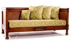 Sofa Warm Walnut