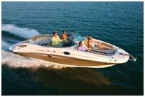 300 Sundeck boat