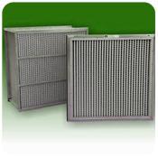 Aluminum Separator Rigid Filter