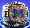 1997 Michigan national Championship Ring