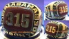 315 Alabama National Championship Ring