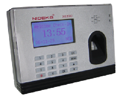 Nideka X639 Fingerprint Time Recorder (Network)