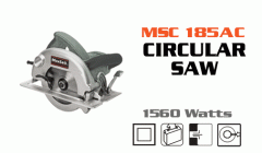 MSC 185AC saw