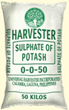 Sulphate of Potash 0-0-50 fertilizer