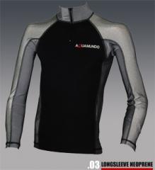 Longsleeve Neoprene Rashguard T-Shirts