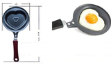 Mini Fry Pan 2pcs heart