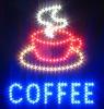 LED Electronic Sign Cafe Bar