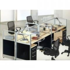 Work Stations PG-T3-04C 4 Seater
