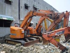 Hitachi EX50URG backhoe