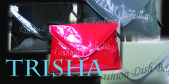 TRISHA Over-sized Clutch