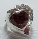 Heart Shape Specialty Ring with CZ