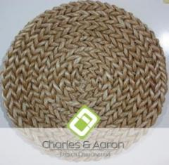 Rounded Abaca Area Rug