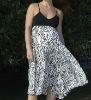 Zebra Swing Maternity Dress