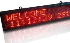 Monochrome LED Displays