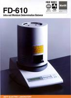 FD-610 Infra-red Moisture Determination Balance