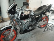 Honda CB 400 Super Four Version S motorcycle