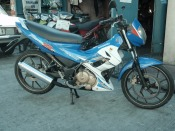 Suzuki Raider R150 2007 Model motorcycle