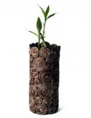 Abaca Swirl Vase (Small)