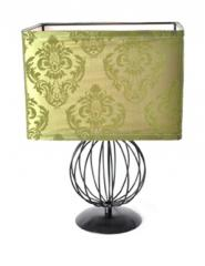Damask Sphere Rectangular Lamp