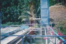 Trickling Water Treatment Plant