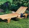 Wood Chaise Lounge