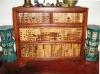 Batik Bamboo Cabinet