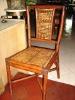 Batik Bamboo Chair