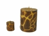 Giraf Pillar Candle