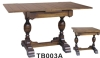 TB003A Cheap Hand Carved Oak Solid Wood Antique