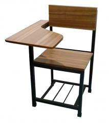 SCHOOL CHAIR, SCHOOL ARMCHAIR, TRAINING CHAIR