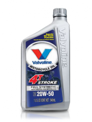 Valvoline 4T Stroke Full Synthetic Motorcycle Oil