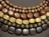 Wood Beads from Natural Materials